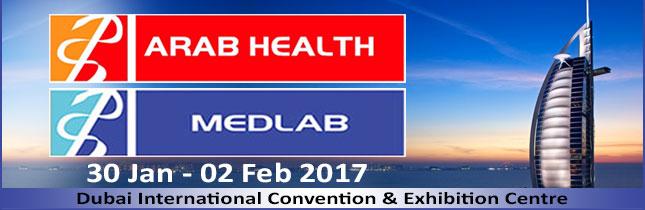 January 2017  Arab Health Dubai