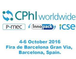 October 2016 CPhI  Barcelona