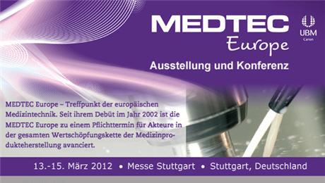 Paspartu在斯图加特参加了MEDTEC医疗设备会议