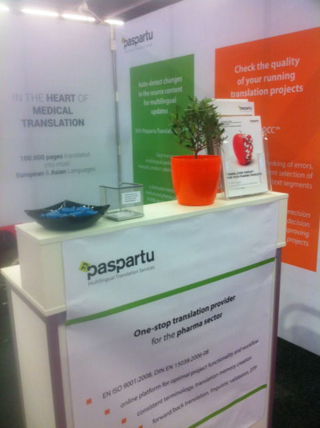 Paspartu exhibiting at DIA Euromeeting in Vienna